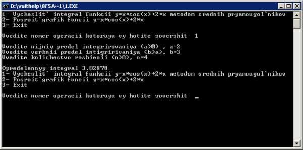 Курсовая Разработка программы нахождения определенного интеграла  Курсовая Разработка программы нахождения определенного интеграла в среде Турбо Паскаль 7 0